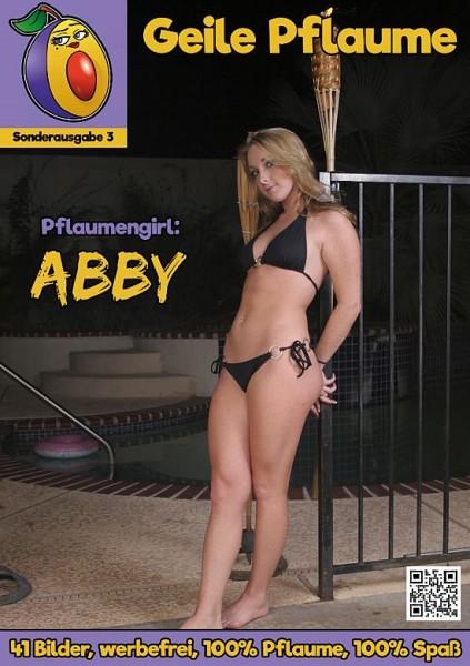 Erotikmagazin Geile Pflaume Sonderausgebe 3 Abby